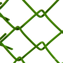 5 foot 9 gauge goat chain link fence black panels 6 x 10 wire mesh