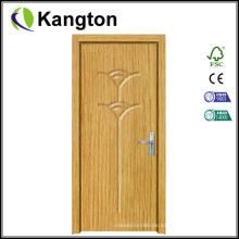 Hochwertige populäre Entwurfs-MDF-PVC-Tür (MDF PVC-Tür)
