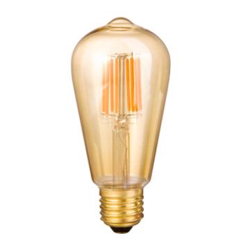LED St64 Filamento Bombilla 2W 4W 6W 8W 12W