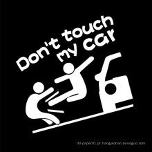 Etiqueta por atacado da decoração do carro do vinil do OEM, decalques impermeáveis do carro