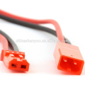 150mm JST Connector 2-pin Plug with 22AWG Silicone Wire Cable 15CM