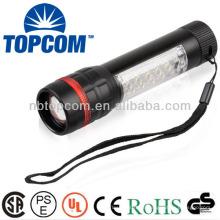 1 + 17 LEDs super helle Hochleistungs-LED-Taschenlampe