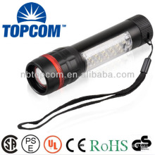 1+17 leds super bright high power led work torch