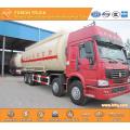 SINOTRUK RHD 40m3 grain transport truck 8X4