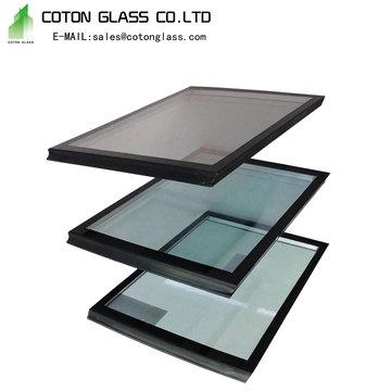 Оптовые стеклянные панели с изоляцией