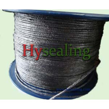 Graphite Yarn with Metal Wire Mesh