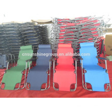 Plegable tumbona, silla de sillón reclinable de masaje gravedad cero
