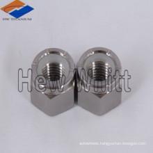 Titanium hexagon cap nuts DIN917