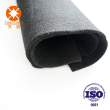 300 Degree Flame Retardant Black Felt