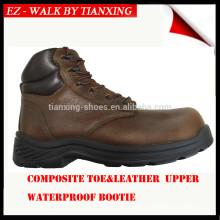 DESMA PU / RUBBER sapato de segurança de aço inoxidável