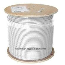 High-End CAT6A UTP LAN Kabel 10 Gigabit Weiß