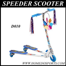 Foldable frame kids mini speeder scooter