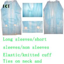 Einweg SMS nicht gewebte chirurgische Kleid Hersteller Kxt-Sg10