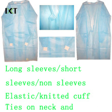Disposable Surgical Gown Medical Dressing for Hospital or Food Industry Kxt-Sg05