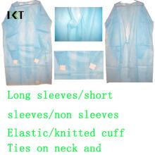 Molho médico do vestido cirúrgico descartável para o hospital ou a indústria alimentar Kxt-Sg05