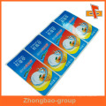 Guangzhou manufacturer wholesale custom self adhesive non-tearable label for frozen food packaging