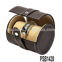 профессиональный кожаный Смотреть Коробка для 2 часы из Китая завода