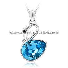 La joyería de plata de los colgantes de la aleación del cinc de la manera libera el níquel libremente