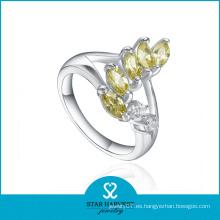 Venta al por mayor anillos de plata esterlina para las mujeres
