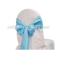 Ondulée ou broyée mariage taffetas Chaire sash