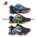 Comfortable Althletic Sport Shoes, Hot Sales Sneakers with PU Upper, Outdoor Running Shoes