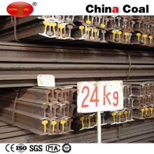 U71mn 24kg Fabricant de rails en acier lourd