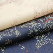 Venda direta de tecido de sarja de algodão clássico de fábrica