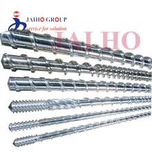 PE PVC PP bimetallic single plastic extruder screw
