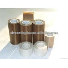 Hi-Temp aislamiento Teflon de vidrio cinta adhesiva de tela