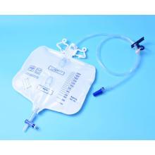 Sterile  Oval Shaped Luxury Urine Bag 2000ml
