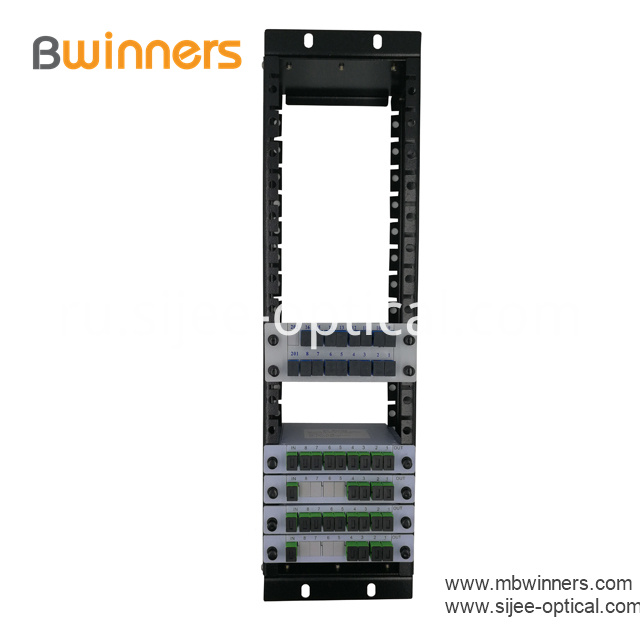 3u Rack Mounted Plc Splitter