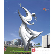 Outdoor Natural Stainless Steel Sculpture