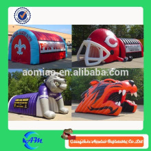 Inflatable toy football baseball sport tunnel rental cheap price for sale