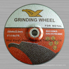 "Resin Grinding Wheel/Grinding Disc for Metal 9"" 230X6X22.2mm"