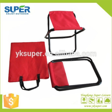 Popular mini acero portátil picnic sillas de pesca