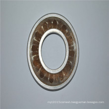 Stainless steel sintered cutting oil filter disc