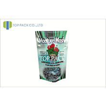 Aluminum Foil Stand Up Pouch Bag For Seeds Packaging 80mic - 200mic
