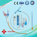 CE approved 6FR-24FR Silicone foley catheter with blister packing