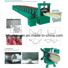 Galvanized Steel Freeway Guardrail Roll Forming Machine