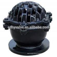 DN50-DN300 PN16/CLASS 125 Cast Iron water pump foot valve