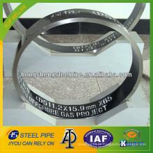 API 5L de aço carbono tubo de linha sem costura de gás