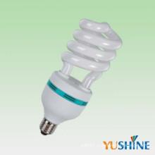 45W 65W половинная спиральная энергосберегающая лампа