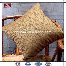 Hot Sale Jacquard Cover com Fibra Filling Cheap Throw Pillow Insere