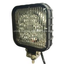 24V Quadrat 30W LED Maschinenarbeitslampen
