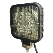 24V Square 30W LED Machine Work Lamps