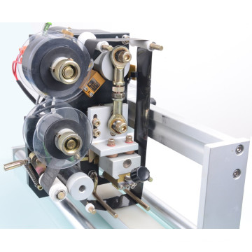 HP-241 Automatic ribbon Coding Machine print Expiry Date use hpt stamping foil / ribbon 35mm*100m
