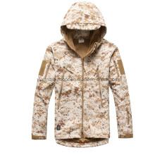 Desierto de ejército Digital Camo Softshell impermeable y transpirable