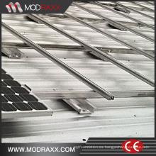 Sistemas de soportes solares de venta caliente con abrazaderas solares (ZX027)
