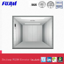 Speed ​​0.5m / Ssafe Freight Elevator with Checkered Steel