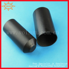 Abrasion Resistant Heat Shrink Softball Bat End Cap